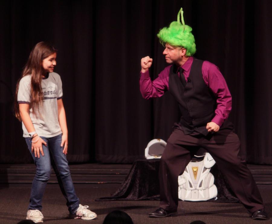 The Hero meets her Sidekick!  The State Theater, Modesto CA, 2011