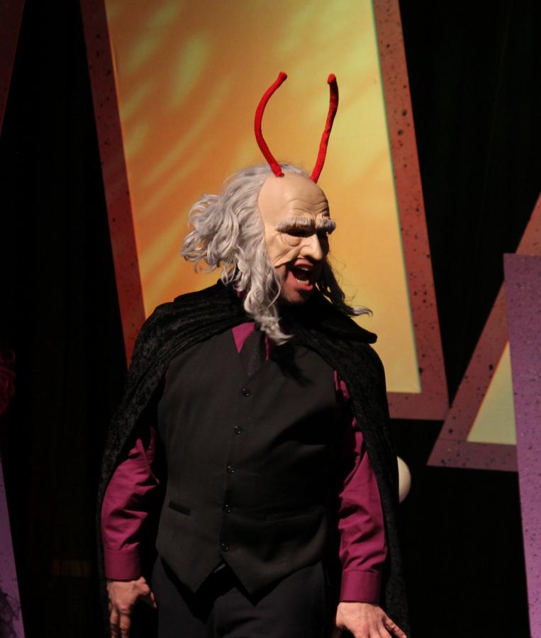 The Villain!  Eureka Theater, San Francisco CA, 2011