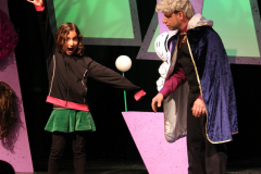 She struck her hero pose!  Eureka Theater, San Francisco CA, 2011