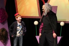 The Lackey talks back!  Eureka Theater, San Francisco CA, 2011