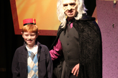 The Viillain and his Lackey!  Eureka Theater, San Francisco CA, 2011